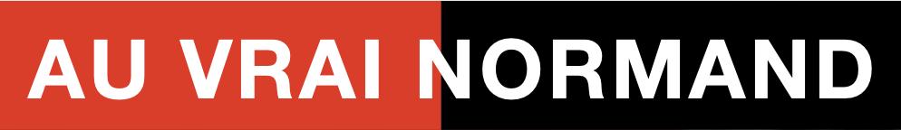 logo restaurant au vrai normand